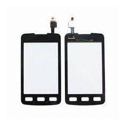 Ecran vitre tactile noir Samsung Galaxy Xcover S5690