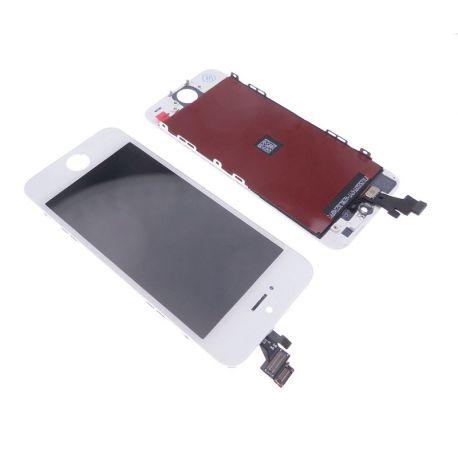 Ecran LCD et vitre tactile Iphone 5 blanc