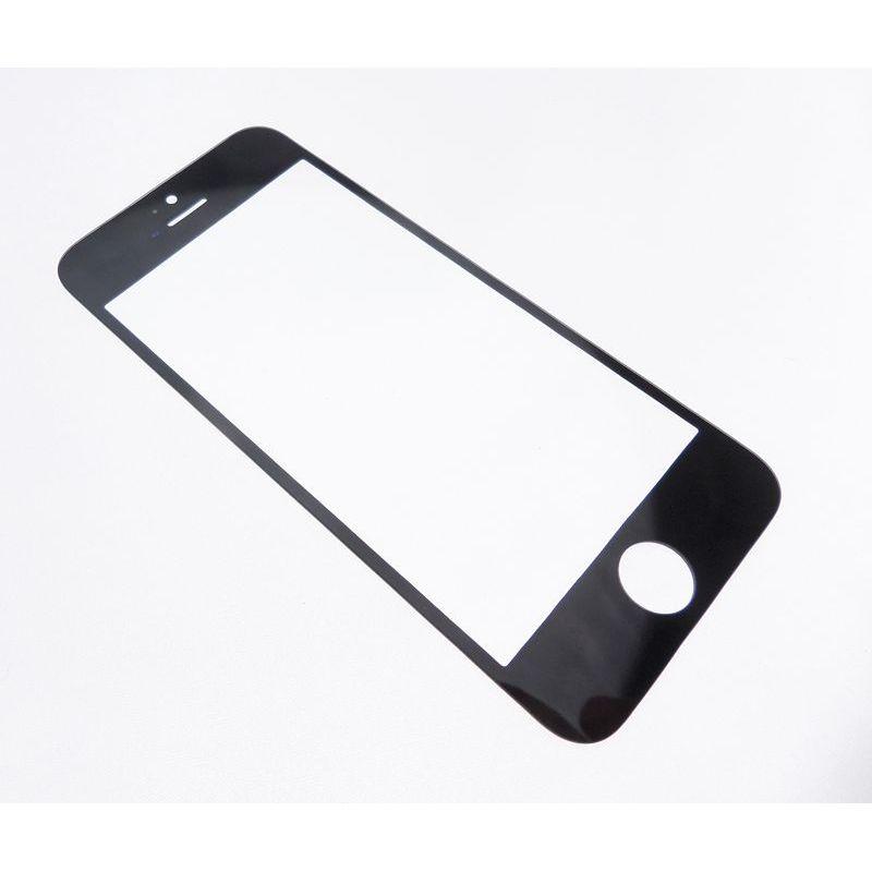 vitre frontale seule compatible apple iphone 5c noir. Black Bedroom Furniture Sets. Home Design Ideas