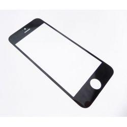 Vitre de protection frontale compatible compatible Apple iPhone 5 noir