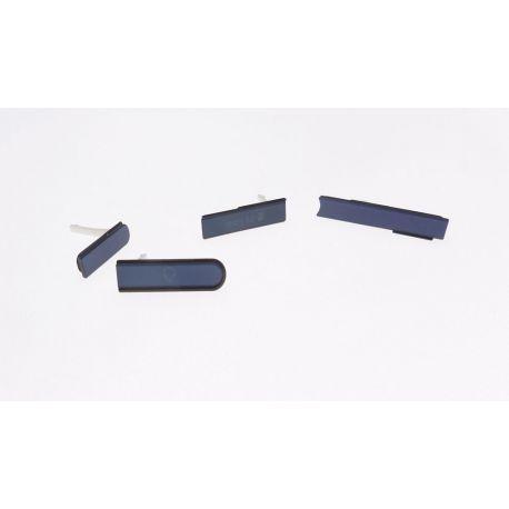 Set cover USB HDMI JACK black Sony Xperia Z L36h