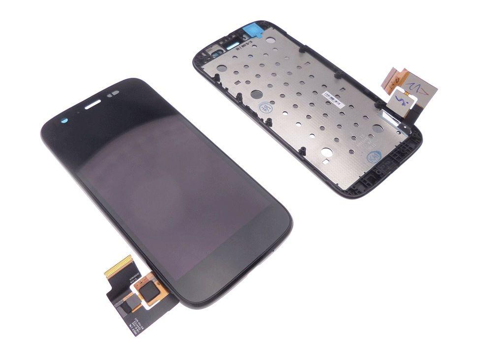Ecran Lcd et vitre tactile assemblés sur châssis Motorola Moto G XT1032