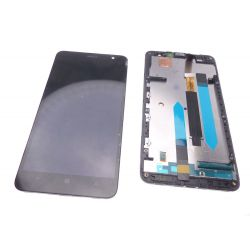Nokia Lumia 1320 Lcd screen and touchscreen assembled on chassis