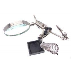 Loupe de travail sur petites pièces piece-mobile