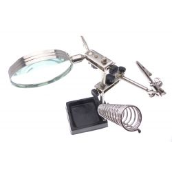 Work on small parts piece-mobile Magnifier