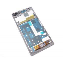 Ecran Lcd et vitre tactile assembles sur chassis blanc Sony Xperia Z1 L39h C6903