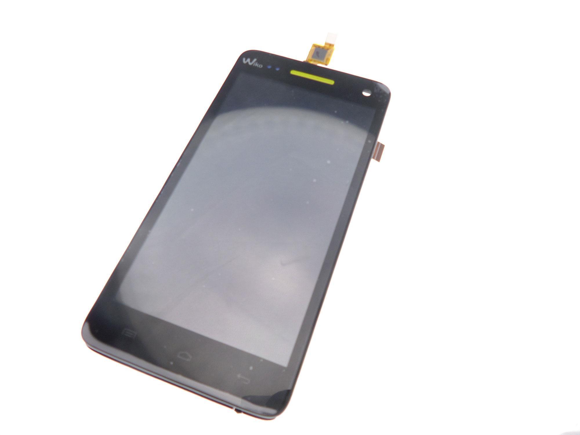 Bloc écran LCD et tactile sur châssis Wiko Rainbow
