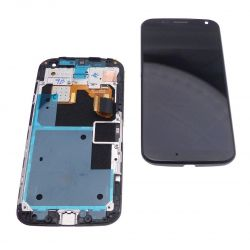 Touch screen and LCD screen assembled on chassis Motorola Moto X XT1060 XT1058