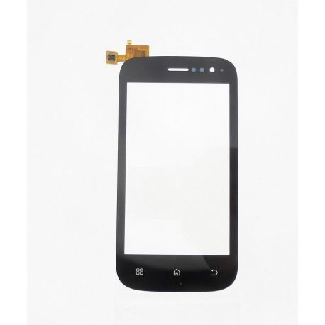 Ecran vitre tactile noir Compatible Wiko Cink Slim