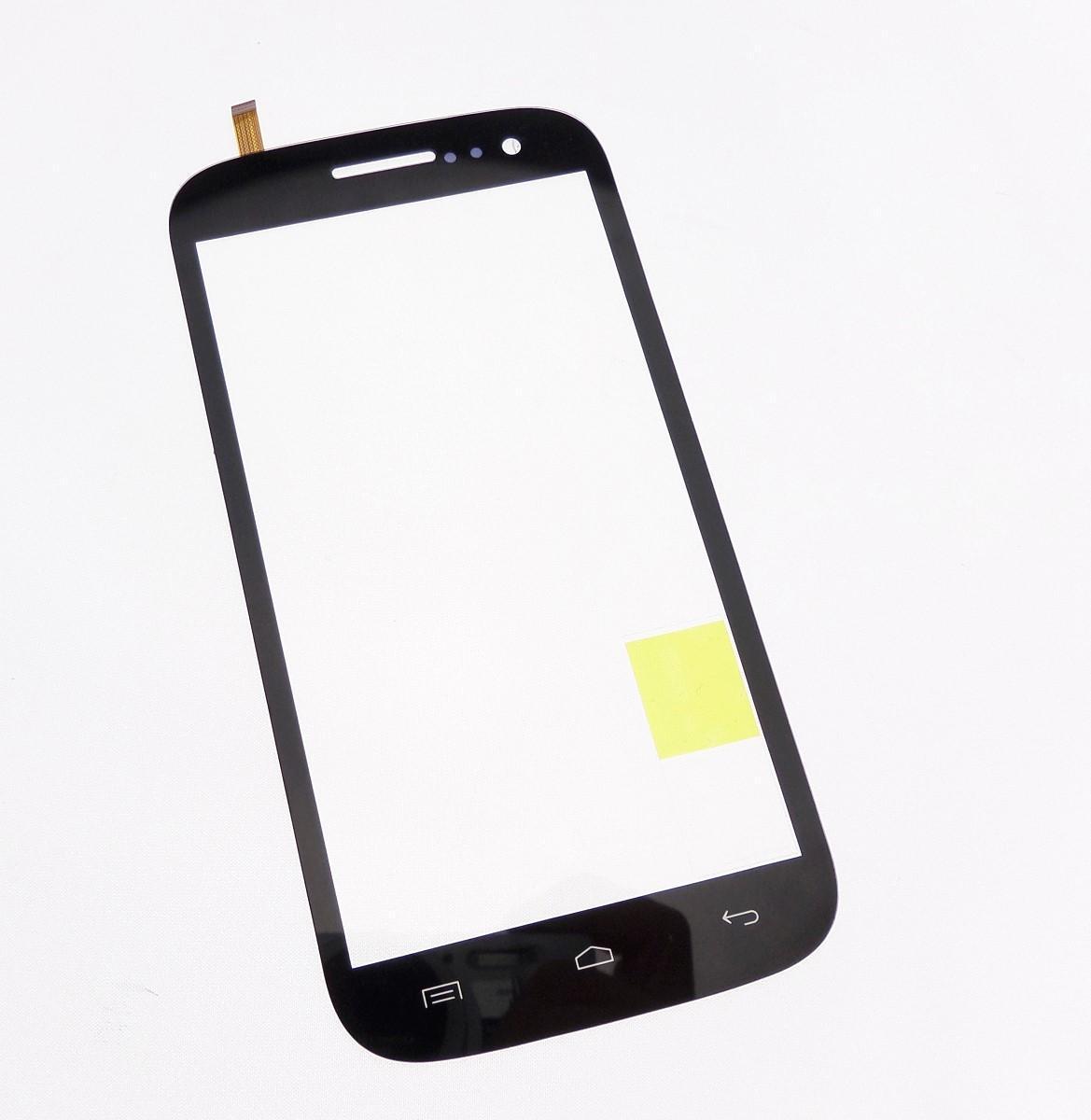 Ecran vitre tactile noir Compatible pour Wiko Cink Five