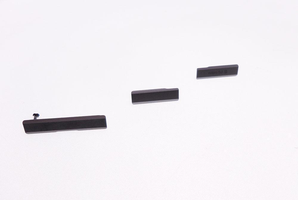Cache HDMI set complet noir pour Sony Xperia Z1 L39h C6903