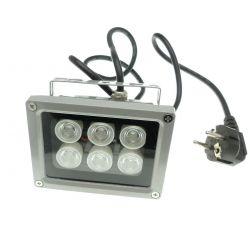 lámpara 6W UV para el pegamento UV Pieza-mobile