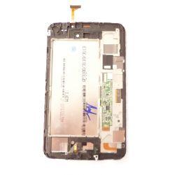 pantalla táctil de cristal y marco ensamblado LCD en blanco Samsung Galaxy Tab 3 niños T2105