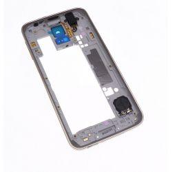 Chassis contour doré et arrière Version B Samsung Galaxy S5 SM-G900F G900A