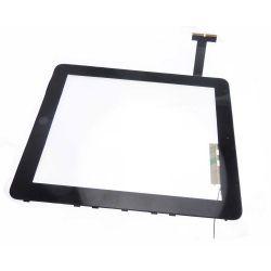 Vitre ecran tactile compatible Apple Ipad 1 Wifi avec support et bouton
