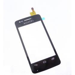 Ecran vitre tactile noire Alcatel One Touch S POP 4030D 4030E