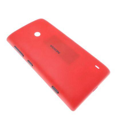Coque arrière cache batterie Nokia Lumia 520 rouge