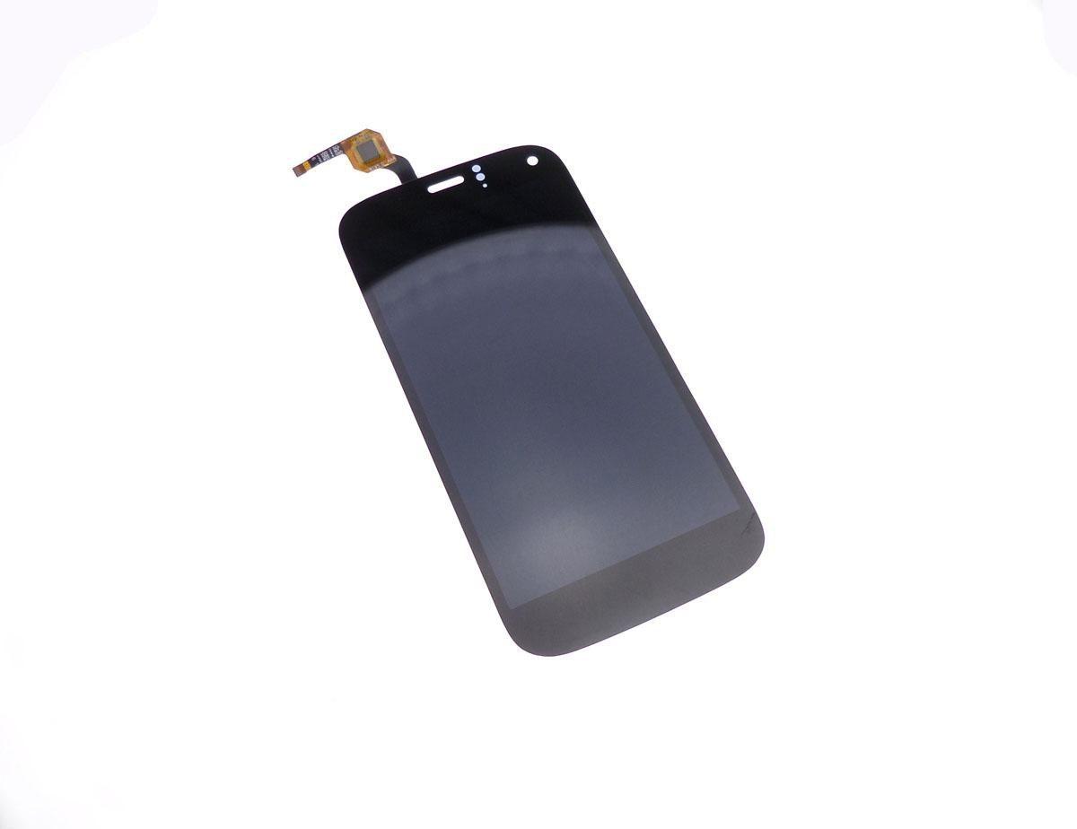 Ecran vitre tactile et LCD assemblés noir pour Wiko Darkfull