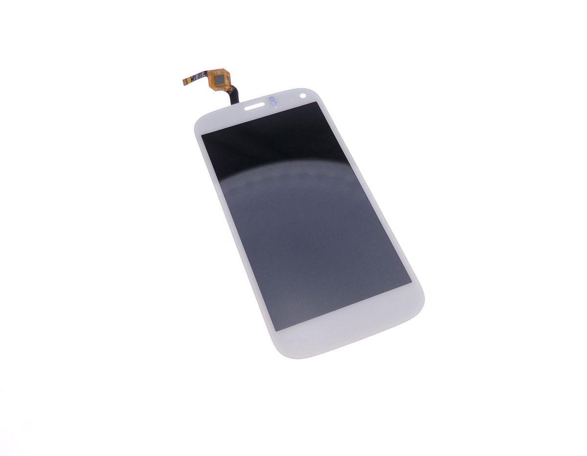 Ecran vitre tactile et LCD assemblés blanc pour Wiko Darkfull