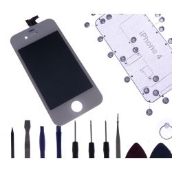 Kit complet de reparation d'ecran blanc Apple Iphone 4