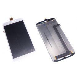 Ecran vitre tactile et LCD assembles blanc Wiko darkside