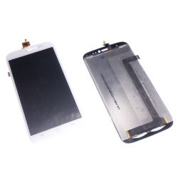 Glass touch screen and LCD assemblies white Wiko darkside