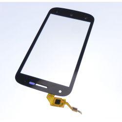 Ecran vitre tactile noir Compatible Wiko Cink Peax