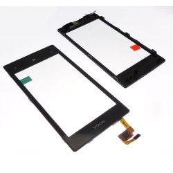 Ecran vitre tactile Nokia Lumia 520 avec chassis contour