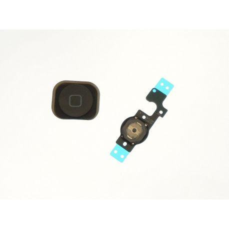 Bouton home noir avec flexible Apple Iphone 5C