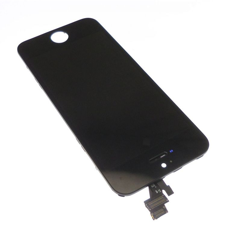 Ecran lcd et vitre tactile iphone 5 noir for Ecran photo noir iphone 5