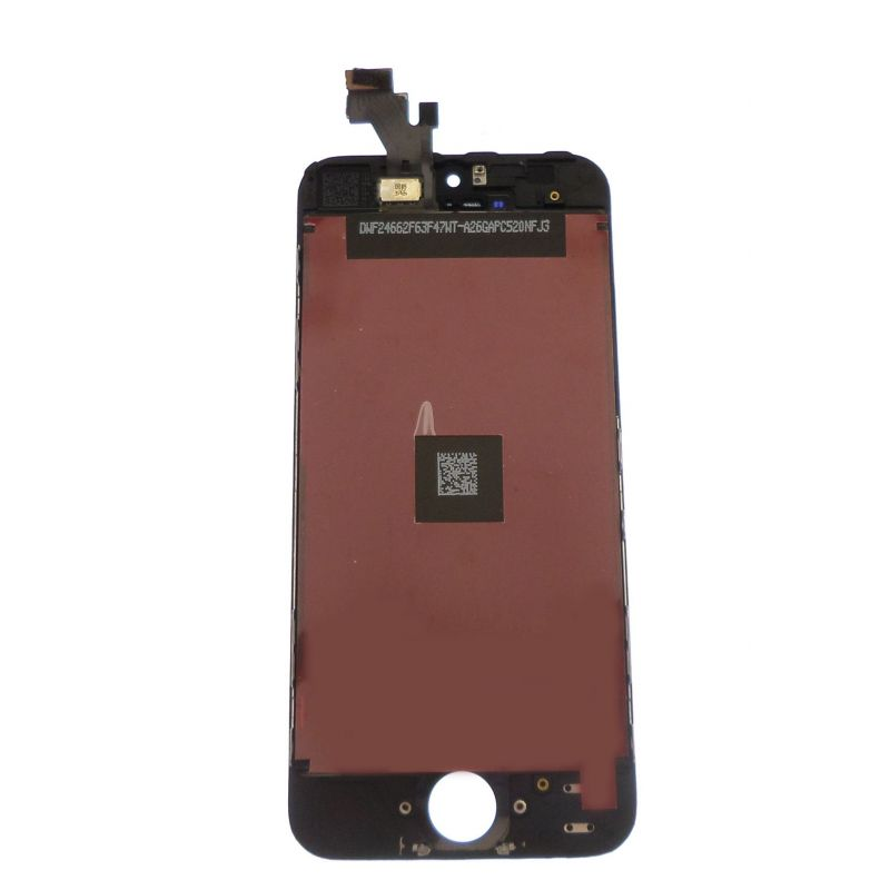 ecran lcd et vitre tactile iphone 5 noir. Black Bedroom Furniture Sets. Home Design Ideas