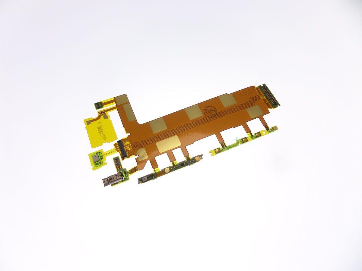 Flexible des boutons volume et power pour Sony Xperia Z3 L55t D6603,D6633,D6643,D6653,D6616