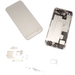 Kit transformation iphone 5S Iphone 6 mini couleur argent