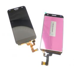 Ecran vitre tactile et LCD assemblés noir pour Huawei Ascend G7 G620s