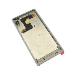 Ecran vitre tactile et LCD assemblés blanc pour Sony Xperia M2 S50h D2302-3-4-5