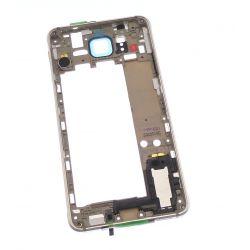 Châssis arrière avec contour or pour Samsung Galaxy Alpha G850F