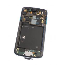 Blue screen touch glass and LCD assembled on chassis for Samsung Galaxy S4 Active I9295