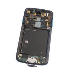 Ecran vitre tactile et LCD assemblés bleu sur châssis pour Samsung Galaxy S4 Active I9295