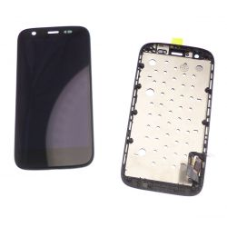 Touchscreen and LCD screen assembled black for Motorola Moto G 4G XT1039