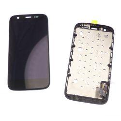 Ecran vitre tactile et LCD assemblés noir pour Motorola Moto G 4G XT1039