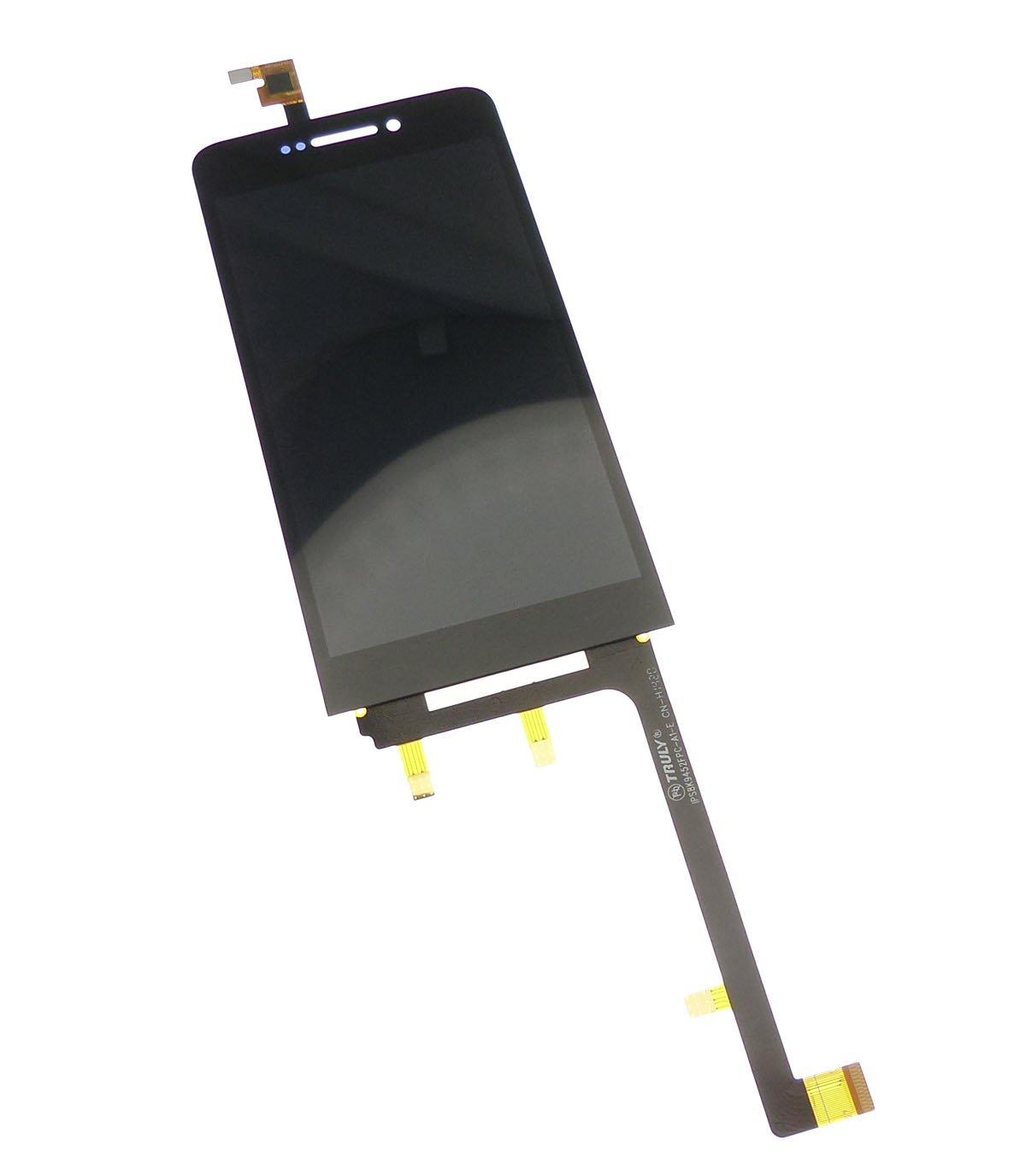 Ecran vitre tactile et LCD assemblés blanc pour Wiko Wax