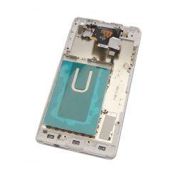 Ecran vitre tactile et LCD assemblés sur châssis blanc pour LG Optimus G E973 E975