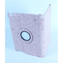 Protective Rotating Protector Fun Pink Ipad with Screen Retina Apple