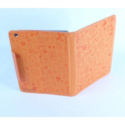 Etui protection orange Ipad avec ecran retina Apple