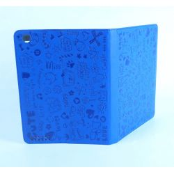 Protective case blue Ipad with screen retina Apple