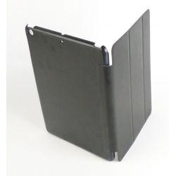 Etui protection simili cuir noir tablette Apple Ipad Air