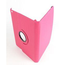 Etui rotatif rose tablette Apple Ipad Air