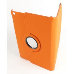 Orange rotating case Apple Ipad Air tablet