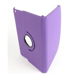Purple Rotatable Tablet Case Apple Ipad Air
