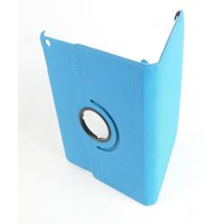 Etui rotatif bleu ciel tablette Apple Ipad Air